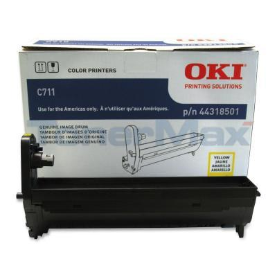 OKI C711 IMAGE DRUM YELLOW
